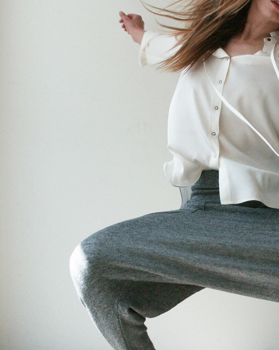 The Le Slouch Pant & TheDegaulle Tunic