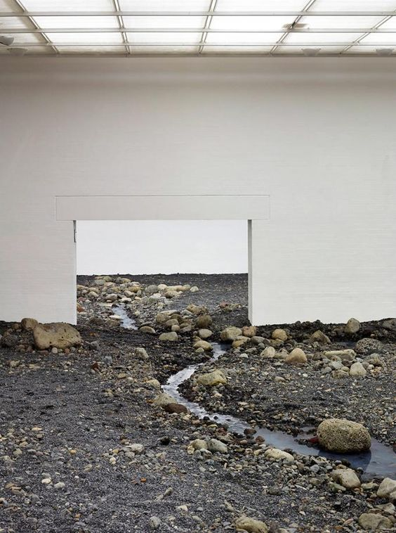 Riverbed by Olafur Eliasson
