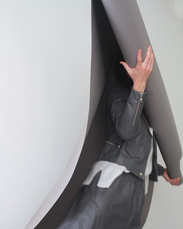 The Leather Moto Jacket + Leather Skirt I'm smoke | #artdeptclothing