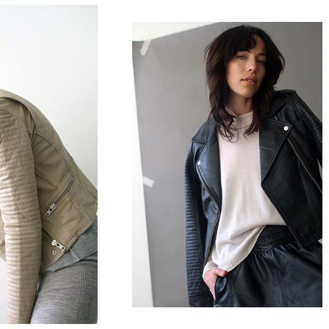 Leather & Cashmere | #artdeptclothing