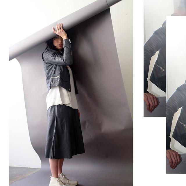 Leather on leather | #artdeptclothing