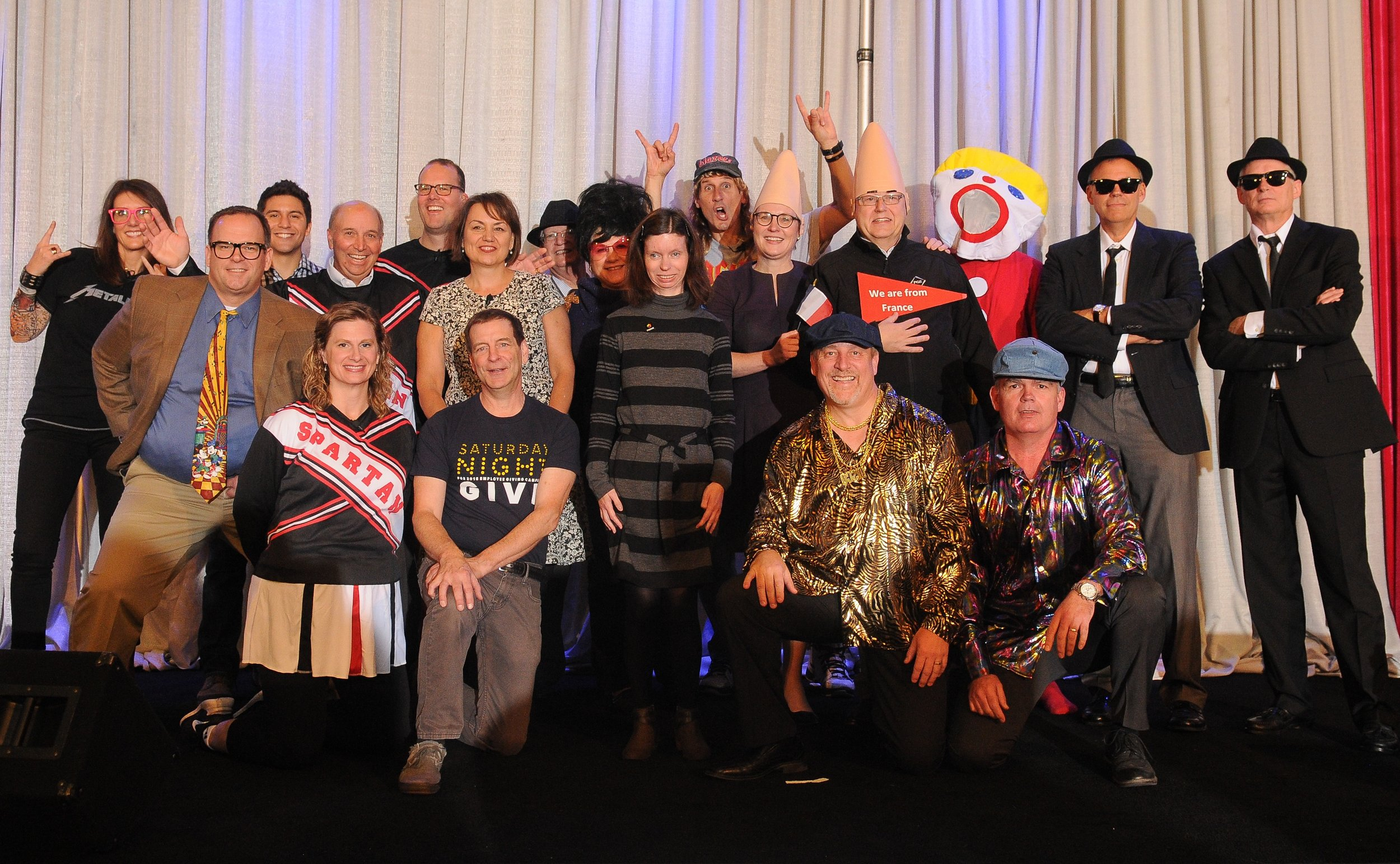 """PGE's """"Saturday Night Give"""" Employee Giving Campaign kick-off event inspired by the late-night comedy show"""