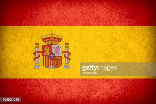 Various cities in Spain: Barcelona, Sevilla, and Madrid.