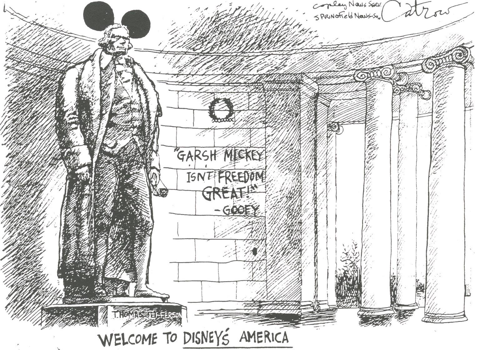 Comic by David Catrow.