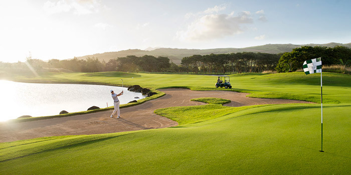 For the sheer density of championship golf courses, there are few islands to touch Mauritius, where half a dozen top-class layouts are to be found within a sand wedge of a tempting range of exclusive five-star resorts