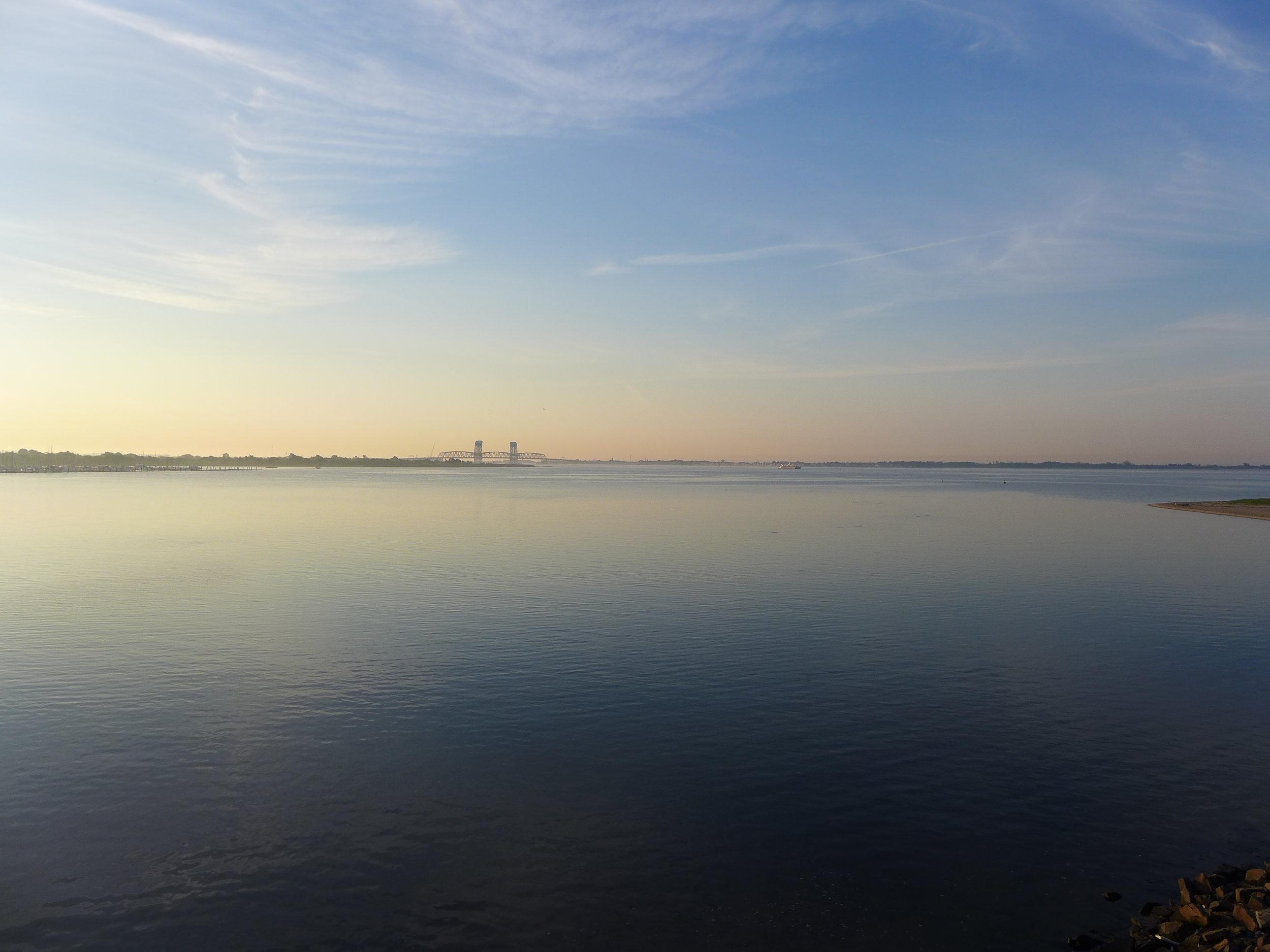 View of Marine Parkway Bridge