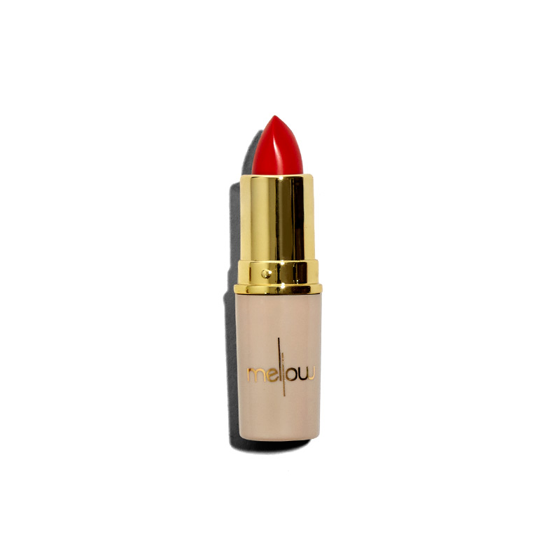 Mellow Cosmetics in Creamy Matte Lipstick (in Nude or Electro)
