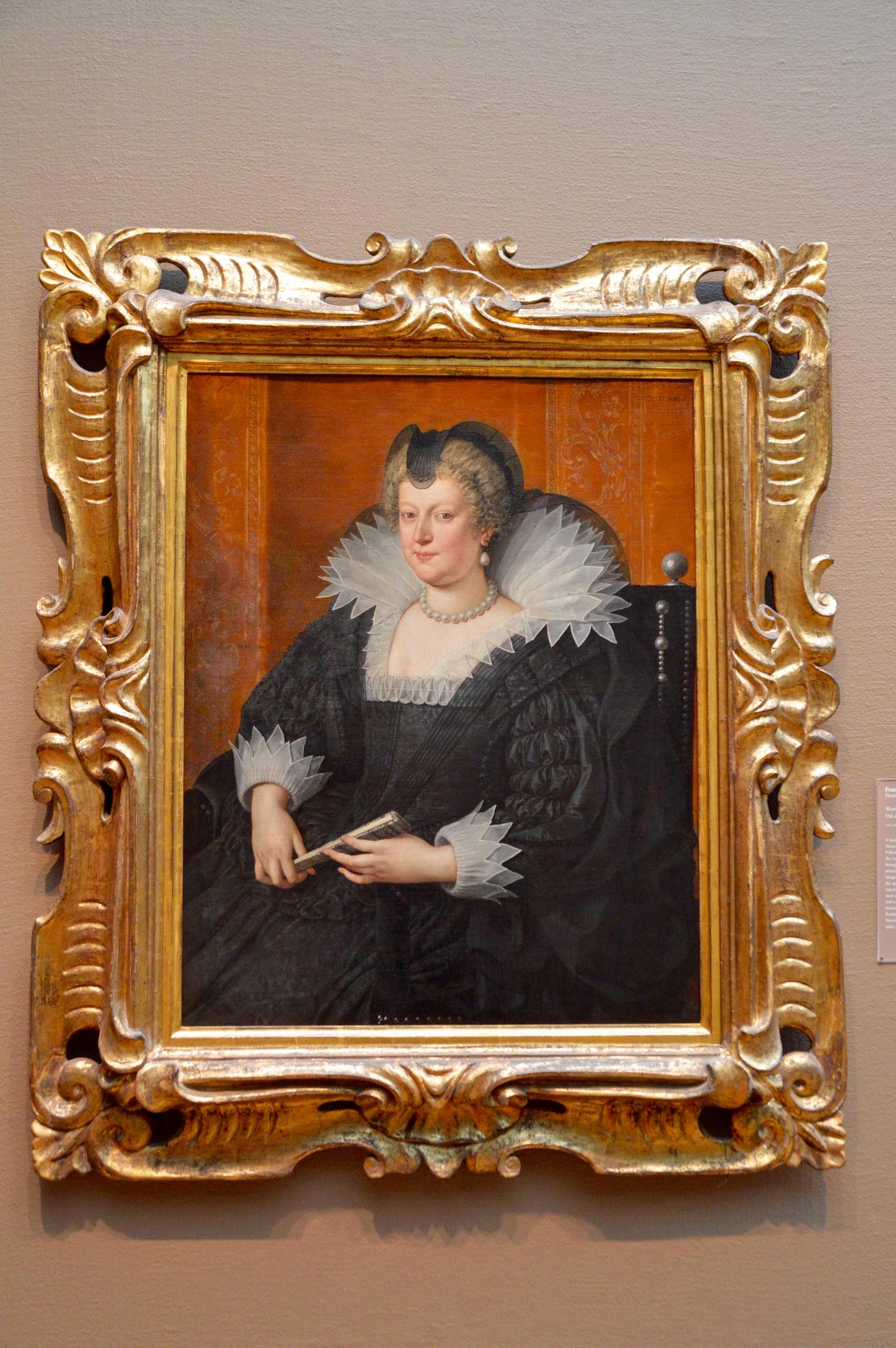 "Frans Pourbus the Younger  ""Marie de' Medici""  (1569-1622)"