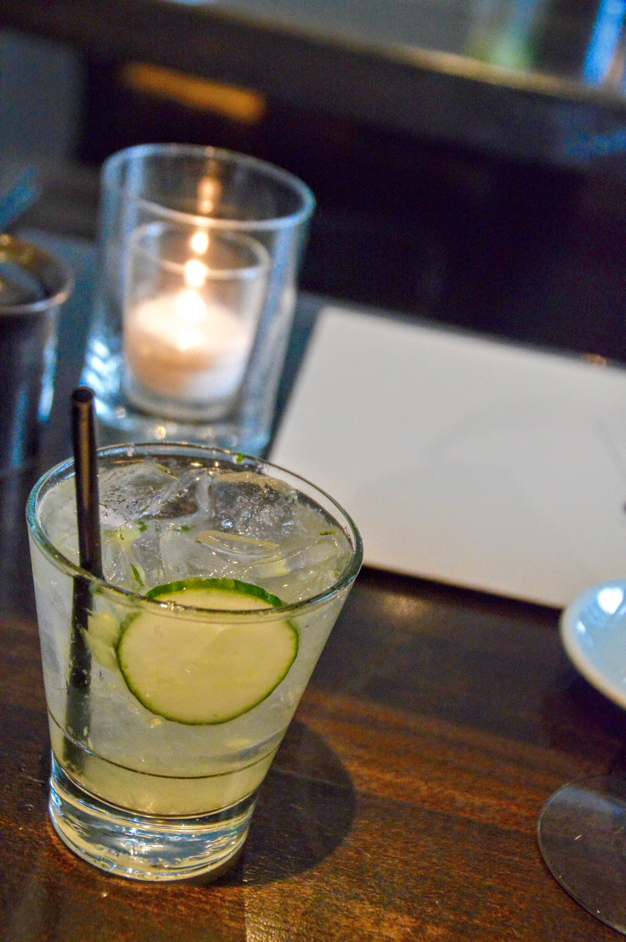 Rockin' Cucumber   - Sake, Vodka, Cucumber, Mint, Yuzu