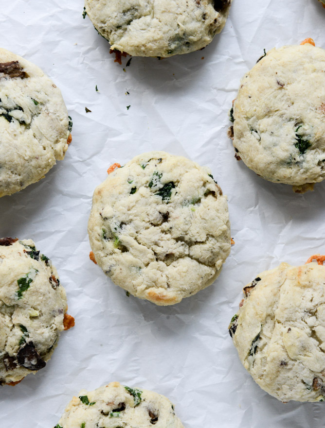 Omelet Scones - by How Sweet It Is