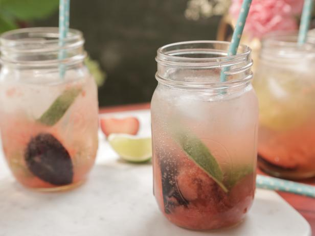 Plum & Sage Mojitos - by Damaris Phillips