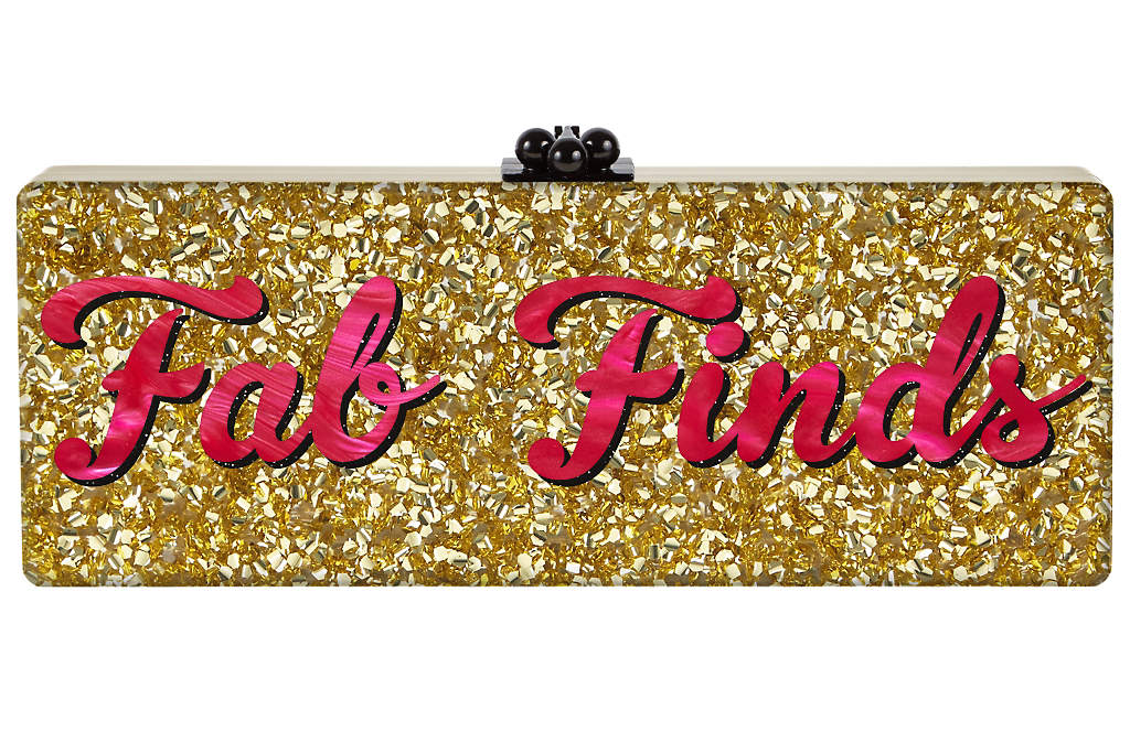 - (Back) - How fabulous is this clutch!??! Yes, it's a bit pricey, but they're super customizable and chic AF! They also have some other amazingly quirky designs that are just too cute for words!