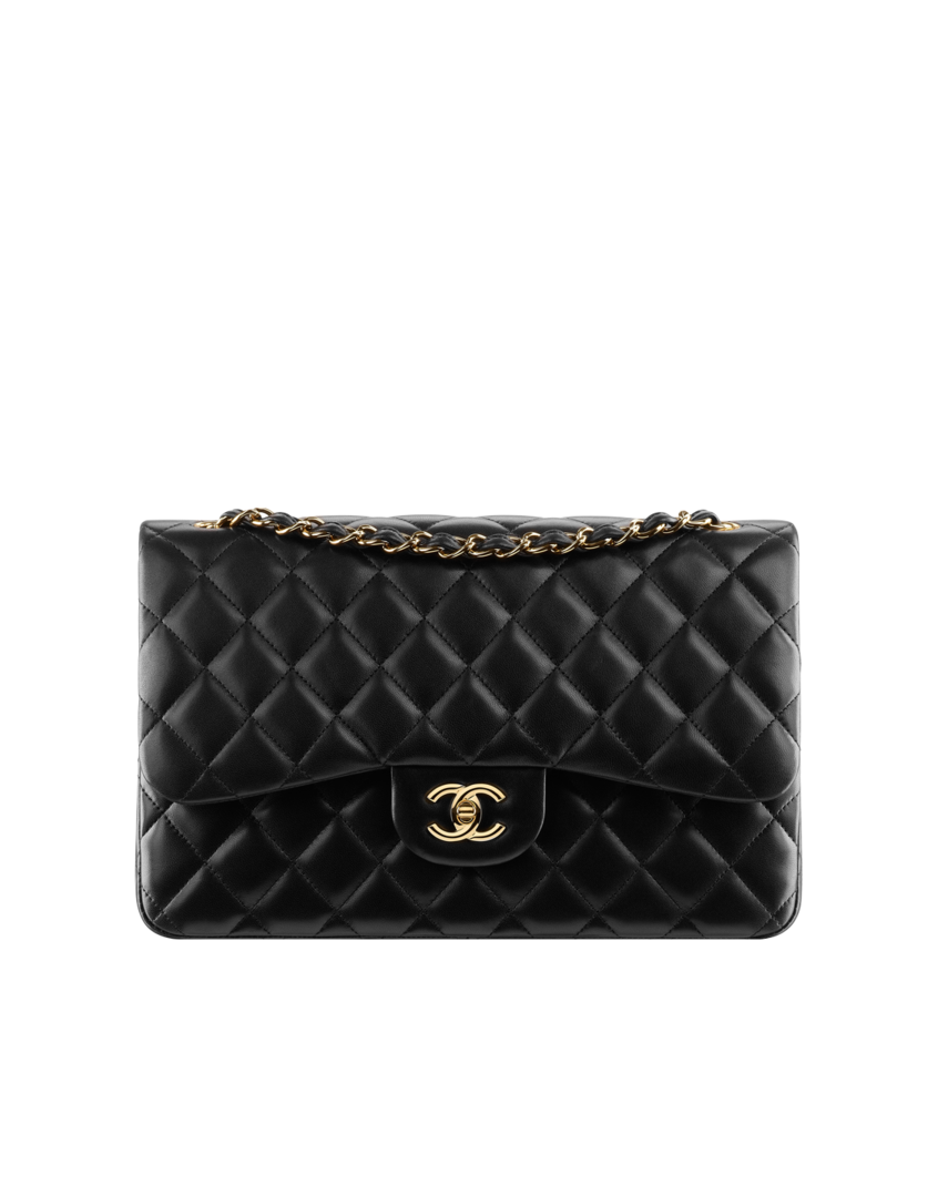 Chanel Large Classic Flap Bag - I have DREAMED of one day owning a classic Chanel bag and I will keep dreaming. When I was in Paris back in 2008, I was in a Chanel store and had the pleasure of waltzing around the store with a bag or two on my shoulder, even tried on a diamond watch...what did I walk out with!? Sunglasses. Goals people, goals.