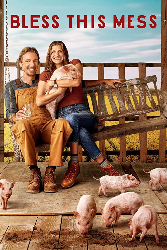 Bless This Mess    (Season 2) - Tuesday Nights on ABC @ 8:30pm, or Catch up on Hulu  A show created by the hysterical Lake Bell (who co-stars alongside the equally hysterical Dax Shepard) has not only written a laugh out loud comedy, but brings hope to situations when things don't always go as planned…in a not so conventional way. I'm so happy it got picked up for season two because I look forward to it every week!