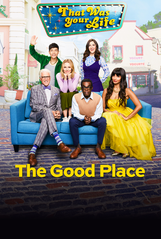 The Good Place    (Season 4) - Thursday Nights on NBC @ 9pm or Catch up on Hulu  The Good Place.  sigh  A show that is SO incredibly smart. From creator of The Office, Mike Schur, you get that same comedic feel, but in an odd way that you've never seen before on television. It's forking awesome.