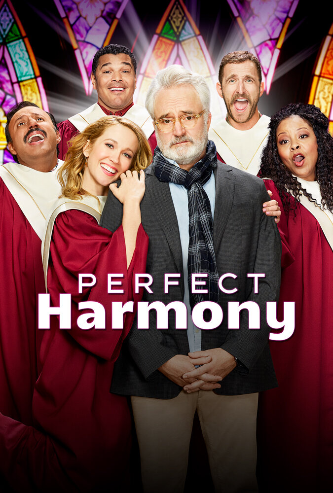 Perfect Harmony   (Season 1) - Thursday Nights on NBC @ 8:30pm, or Catch up on Hulu  I gotta be honest, it's refreshing seeing Bradley Whitford in this role after seeing him in Season three of Handmaid's Tale. He is so funny, it's light, heartwarming and feels like a warm biscuit. OMG. I think this is where my biscuit craving came from. (…Instagram peeps know what I'm talking about.)
