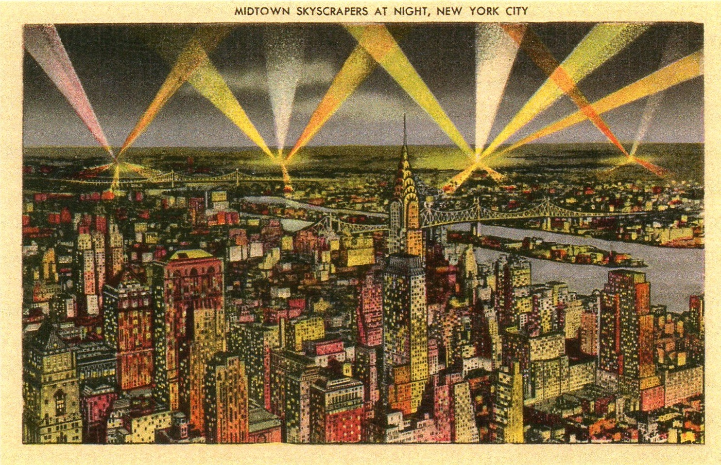 Vintage Art Deco Postcard - Photo source: Ephemeral New York
