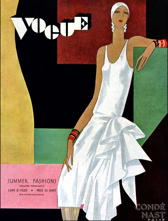 Vintage 1920s Vogue Cover