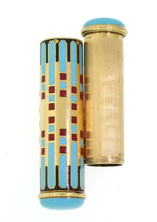 Art Deco Lipstick Case