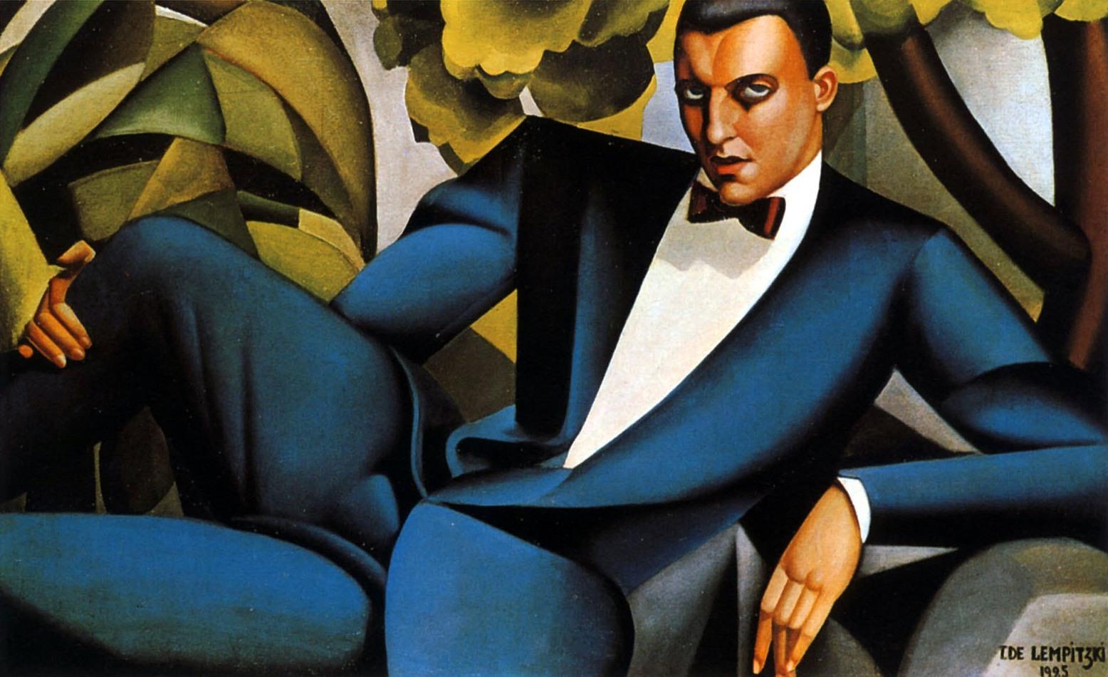 """Portrait of Marquis d'Afflitto"" by Tamara de Lempicka, 1925"