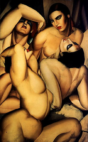 """Group of Four Nudes"" 1925"