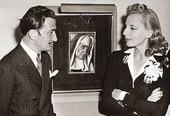Tamara de Lempicka with Salvador Dali, 1941