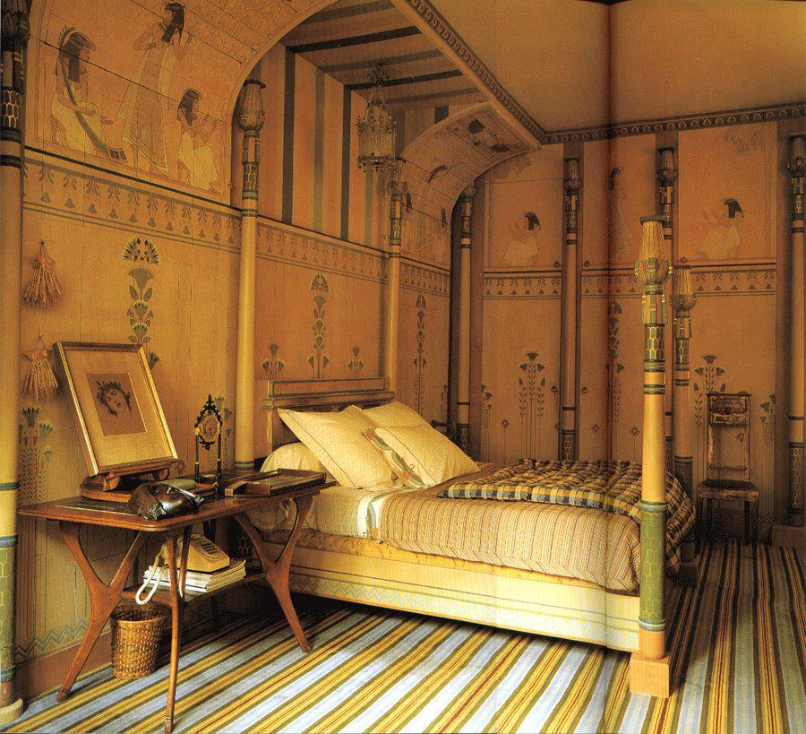 Art Deco Egyptomania Wallpaper - Image source:   Ultimatechristoph.com