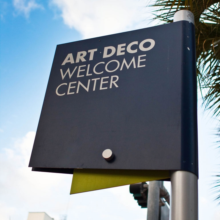 Art Deco Style Welcome and About Me