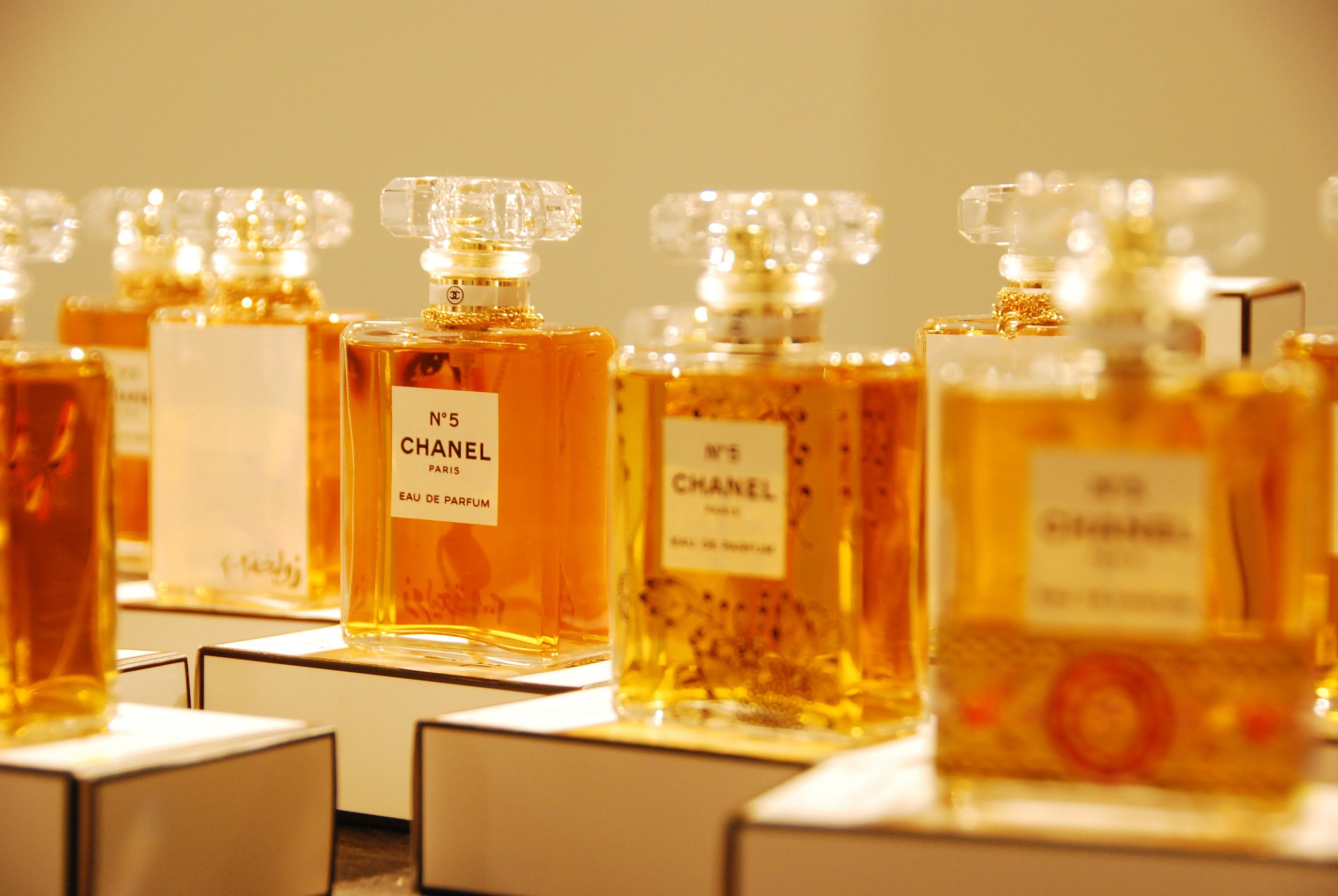 Chanel No 5 Perfume Bottles