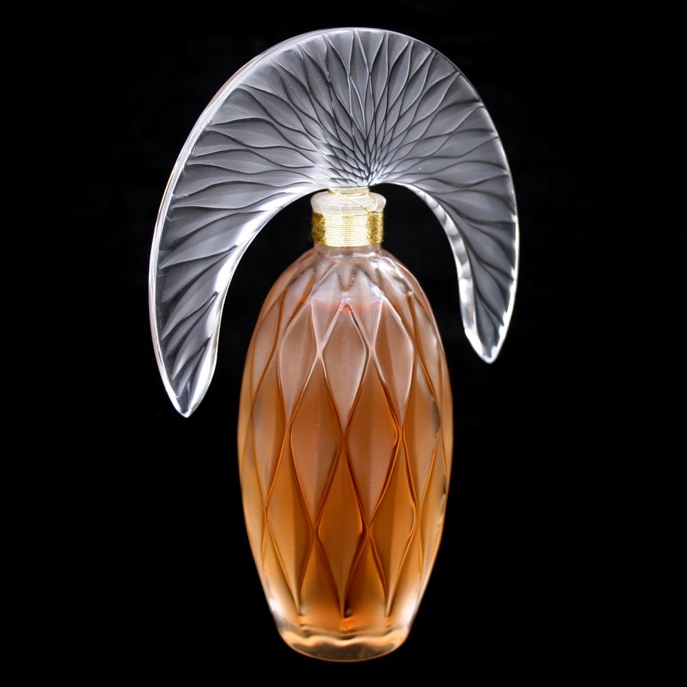 Lalique Art Deco Perfume Bottle