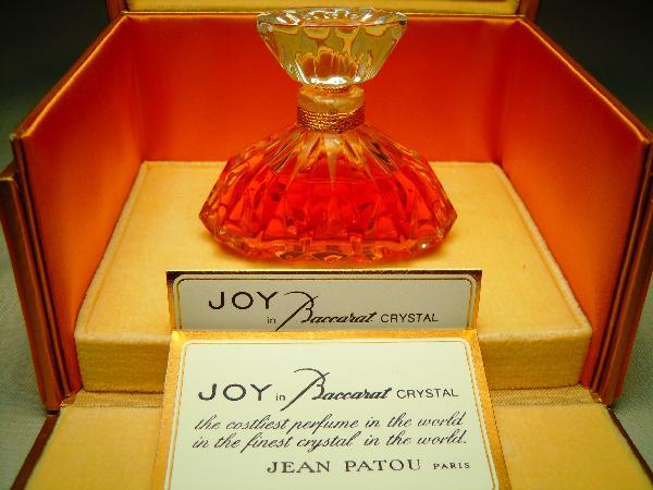 """Jean Patou """"Joy"""" Perfume Bottle by Baccarat"""
