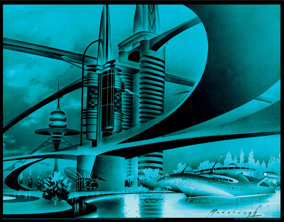 Arthur Radebaugh futuristic illustrations