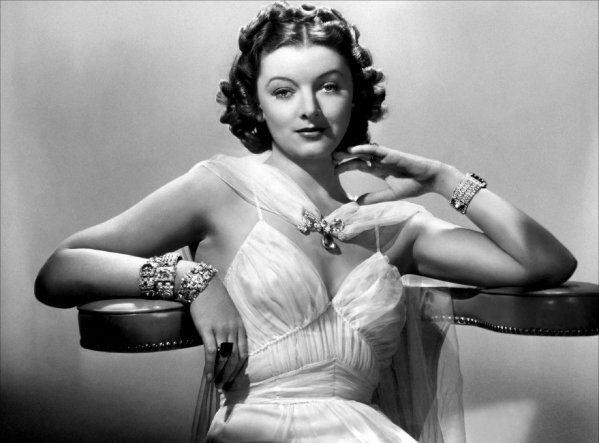 1920s Silver Screen Goddess, Myrna Loy