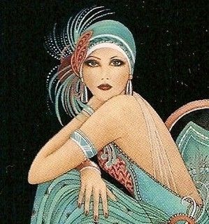 Art Deco Fashion - Luxury & Glamour
