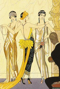 Art Deco Evening Glamour Fashion