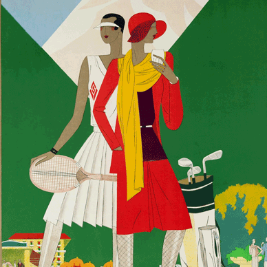 Art Deco Sports & Leisure Fashion