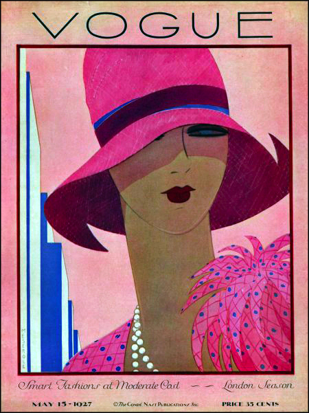 Vintage Vogue Cover May 1927