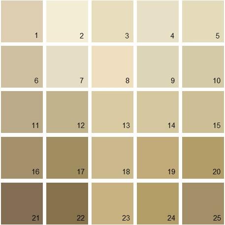 Art Deco Neutral Colour Scheme
