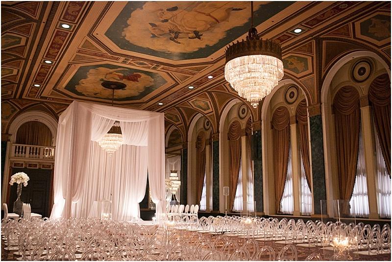 Art Deco Wedding at the  Fairmont Royal York Hotel, Toronto