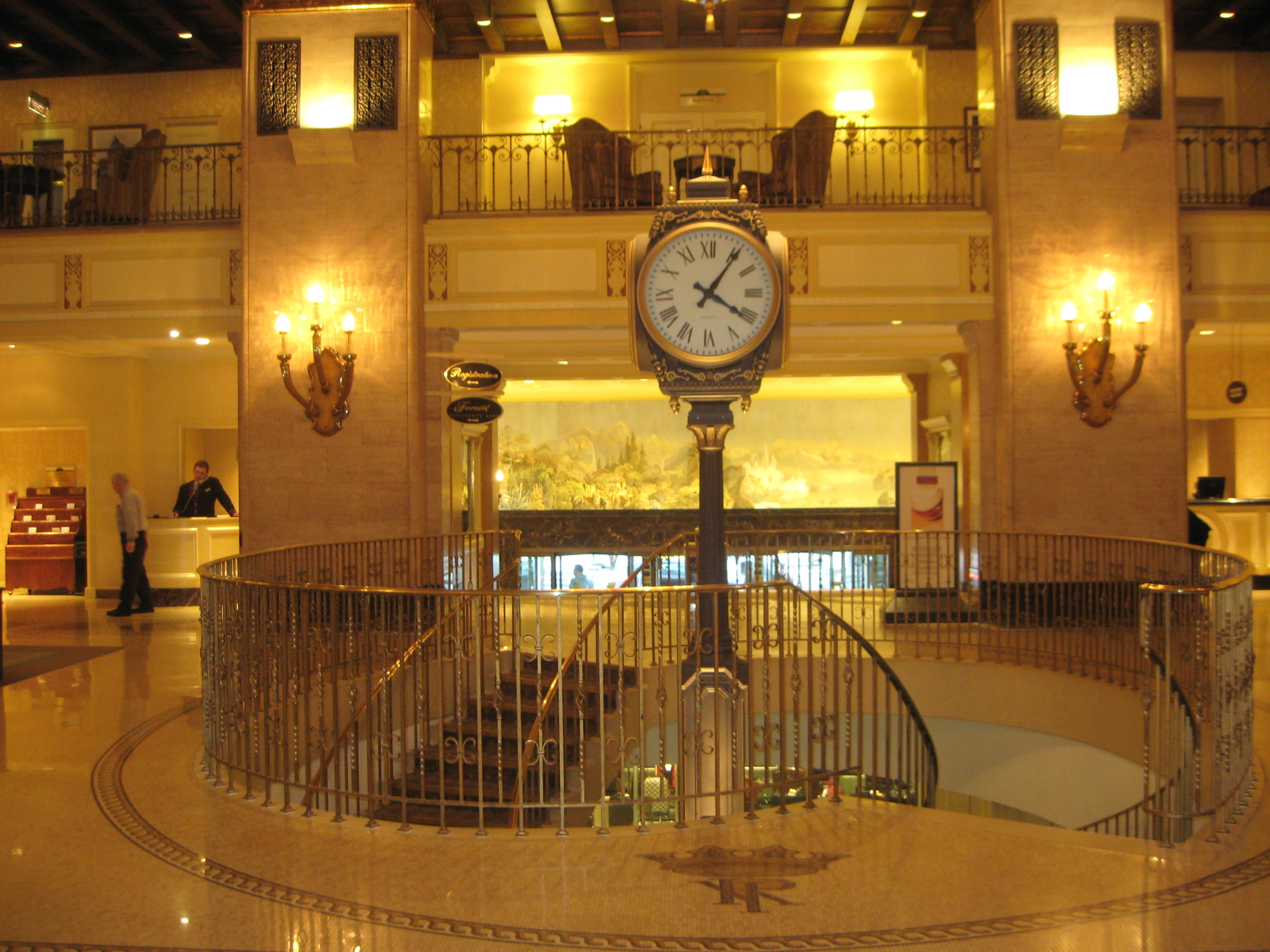 The Royal York Hotel Lobby