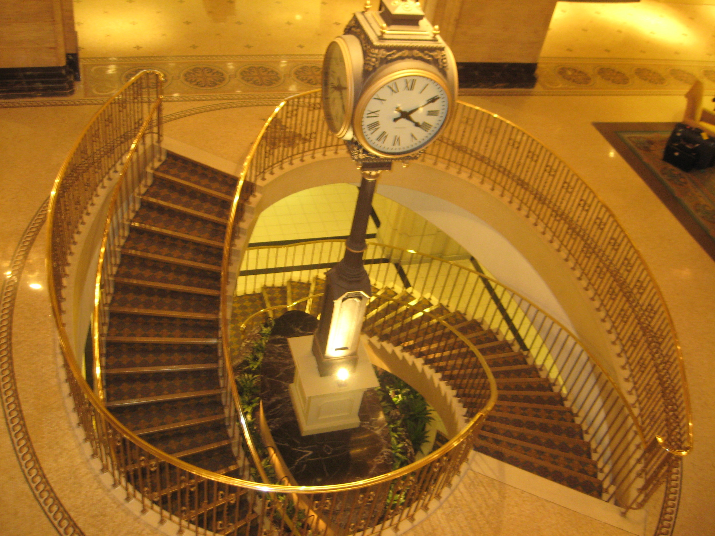 The Royal York Hotel Spiral Staircase