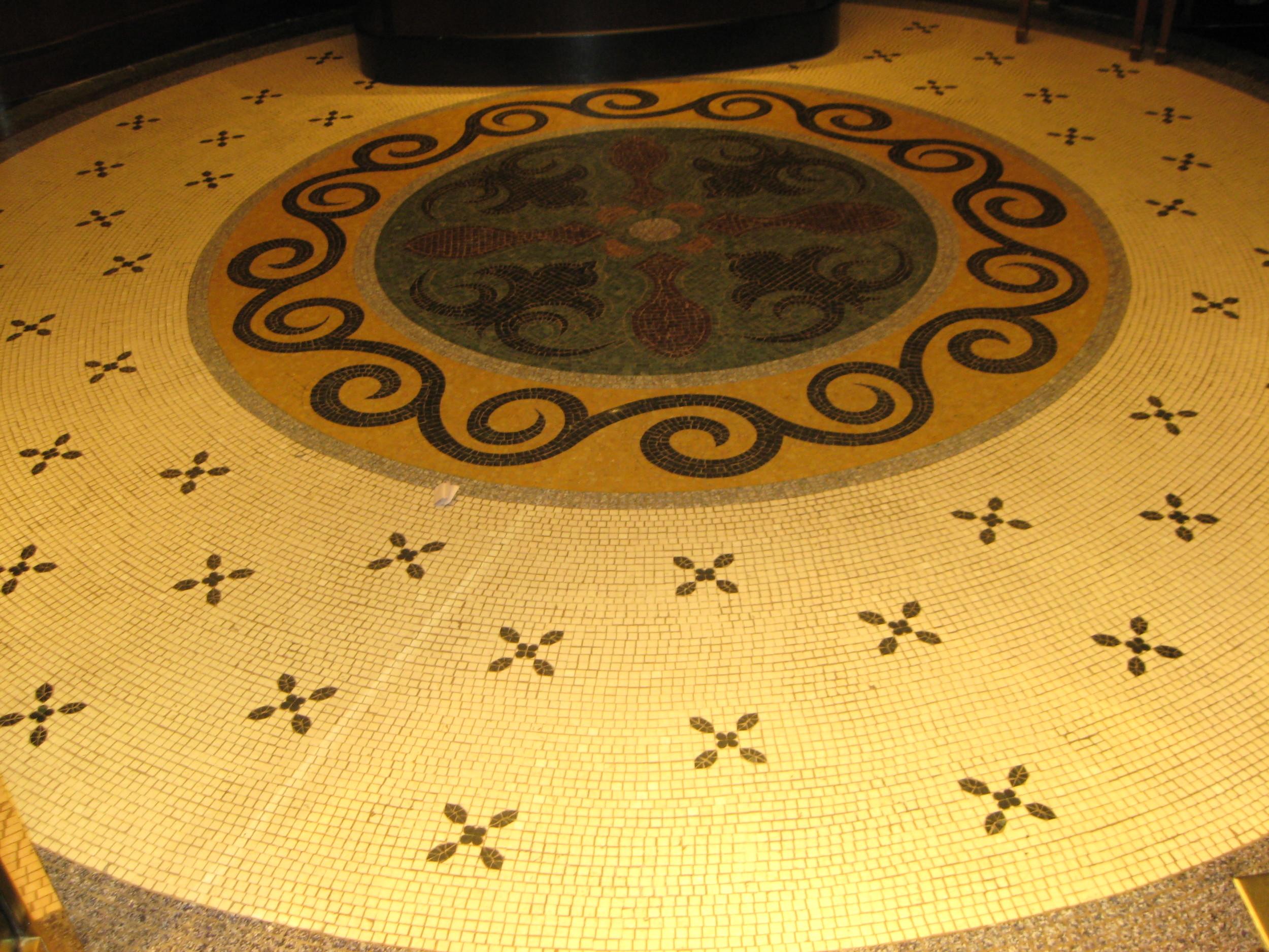 Art Deco Floor Tile