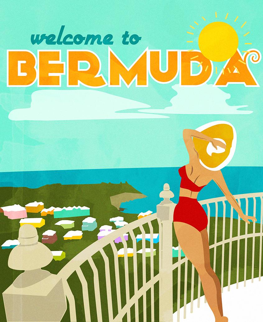 Art Deco Travel Poster