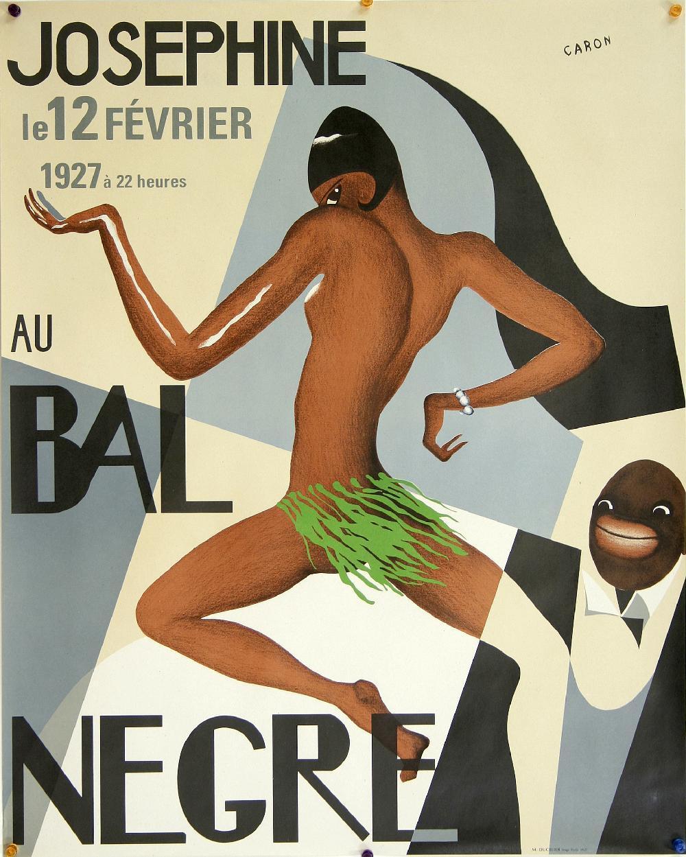 Josephine Baker Art Deco Poster, 1927