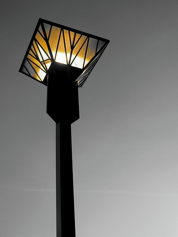 Art Deco Street Lamp