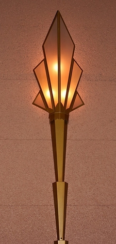 Art Deco Wall Sconce - Fox Theater, Tuscon, AZ