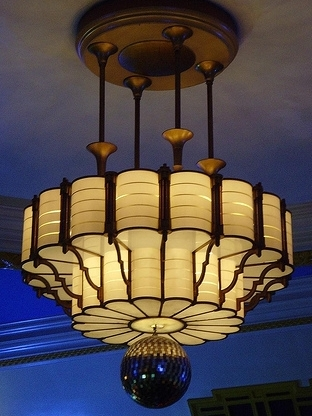 Art Deco Chandelier - Camden Centre, LN
