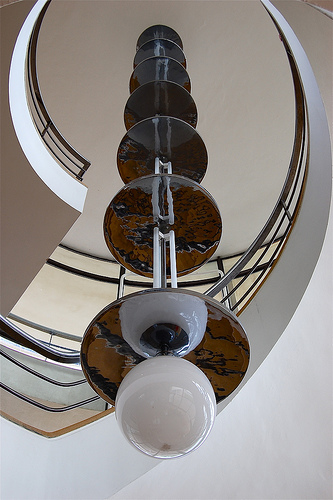 Art Deco Light Fixture - Bexhill-on-Sea, UK