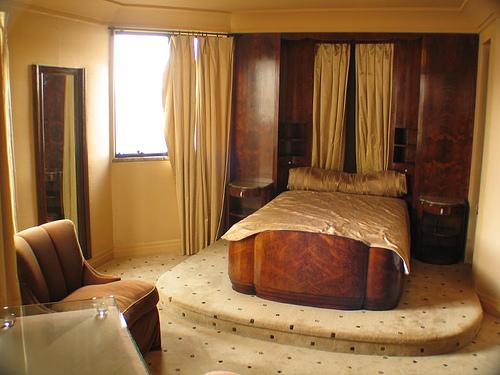 Art Deco Monochromatic Bedroom - James Oviatt Penthouse