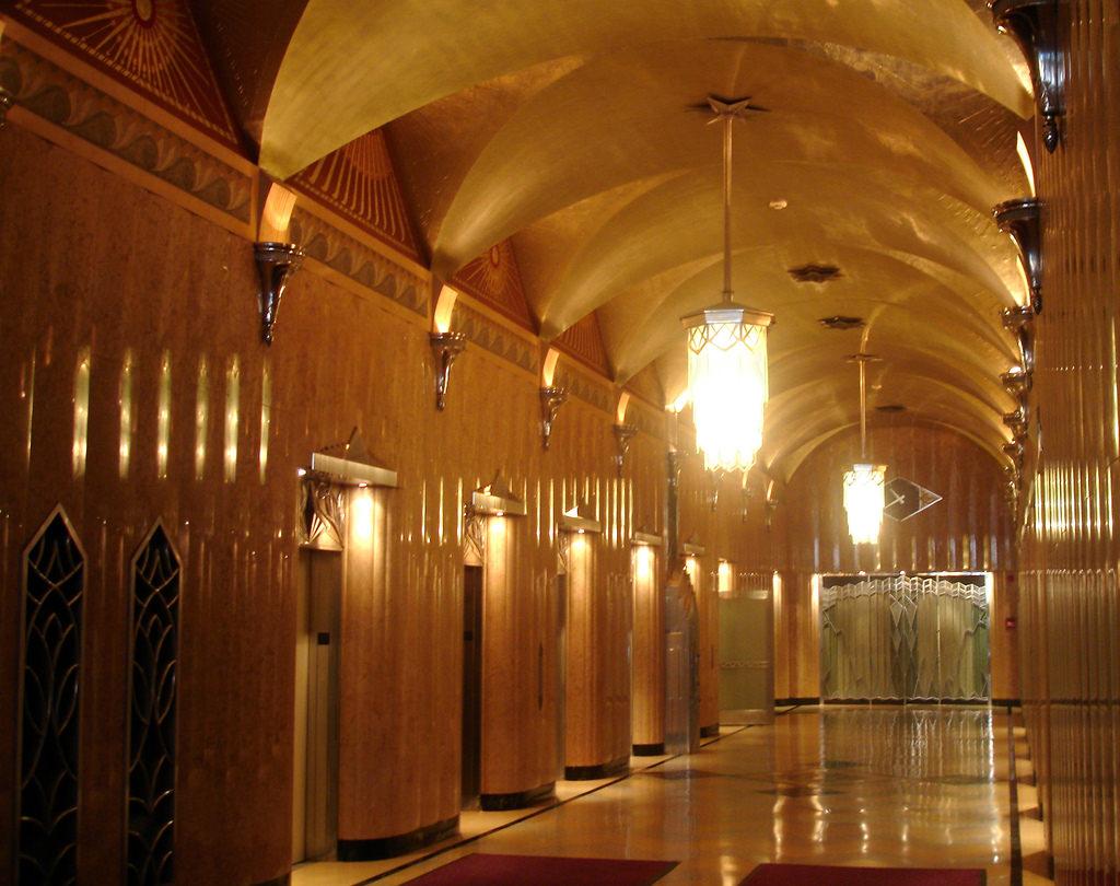 Art Deco Lobby - The Chrysler Building, NY -Photographer:   cogito ergo imago
